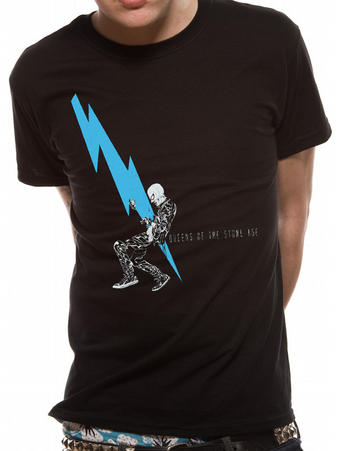 Queens Of The Stone Age (Lightning Dude) T-shirt Preview