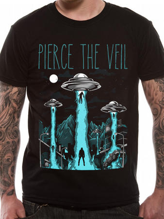 Pierce The Veil (Alien Abduction) T-shirt Preview