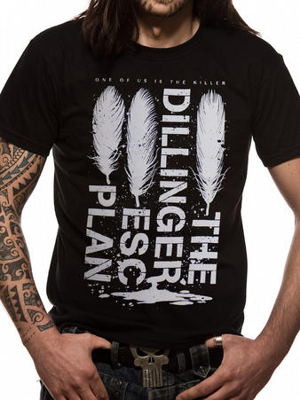 The Dillinger Escape Plan (Feathers) T-shirt Preview