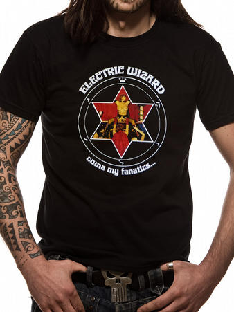 Electric Wizard (Come My Fanatics...) T-shirt Preview