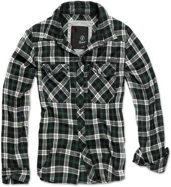 Brandit (Black Green) Checkshirt Preview