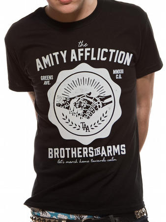 The Amity Affliction (Brothers Crest) T-shirt Preview