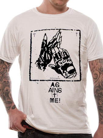 Against Me! (Gloves Cult) T-shirt Preview