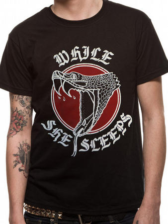 While She Sleeps (Snake) T-shirt Preview