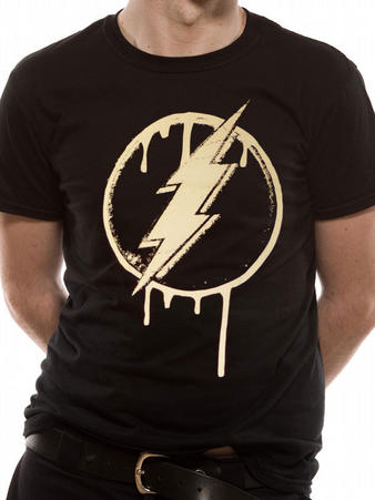 The Flash (Dripping Logo) T-shirt Preview