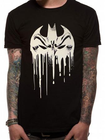 Batman (Dripping Face) T-shirt Preview