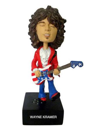 Wayne Kramer (Rocking Head Guitar Gods) Bobblehead Figure Preview