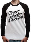 Bruce Springsteen (Logo) Raglan