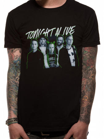 Tonight Alive (Band Photo) T-Shirt Preview