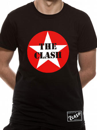 The Clash (Star Logo) T-Shirt Preview