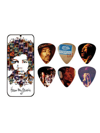 Jimi Hendrix (Hear My Music) Pick Tin Preview