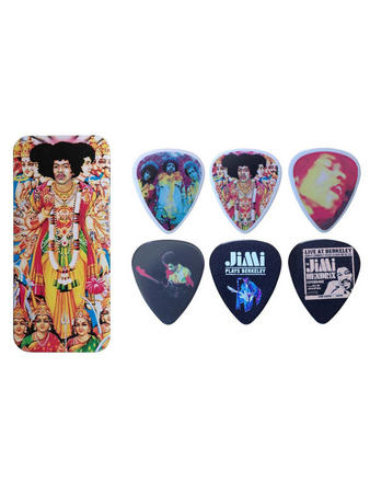 Jimi Hendrix (Bold As Love) Pick Tin Preview