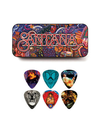Santana (Logo) Pick Tin Preview