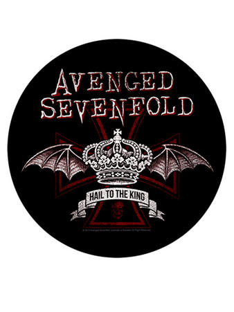 Avenged Sevenfold (Red Crown) Back Patch Preview