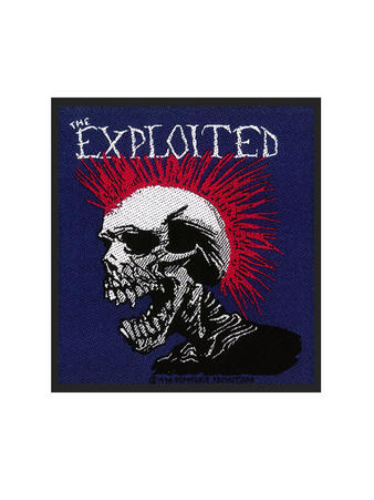 The Exploited (Mohican Multicolour) Patch Preview