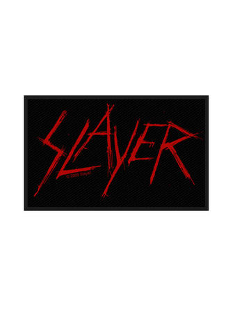 Slayer (Scratched Logo) Patch Preview