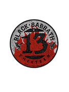 Black Sabbath (Flames) Patch