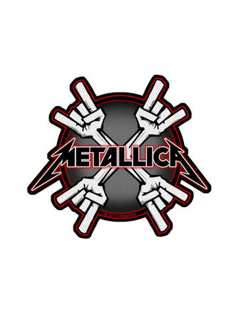 Metallica (Metal Horns) Patch Preview