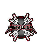 Metallica (Metal Horns) Patch