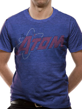 The Atom (Distressed Logo) T-shirt Preview
