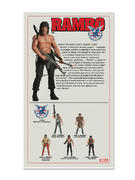 "Rambo (First Blood SDCC 2015) 7"" Deluxe Figure Thumbnail 3"