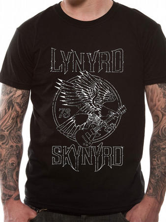 Official Lynyrd Skynyrd (73 Eagle) T-Shirt Preview