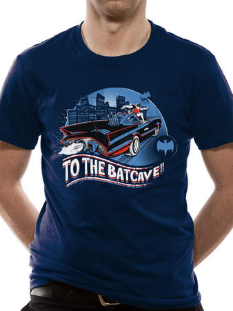 Batman (1966 To The Batcave) T-shirt Preview