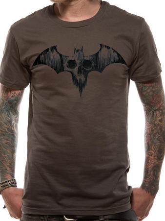 Batman (Skull Emblem) T-shirt Preview