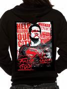 Batman V Superman (Superman Poster) Hoodie Thumbnail 2