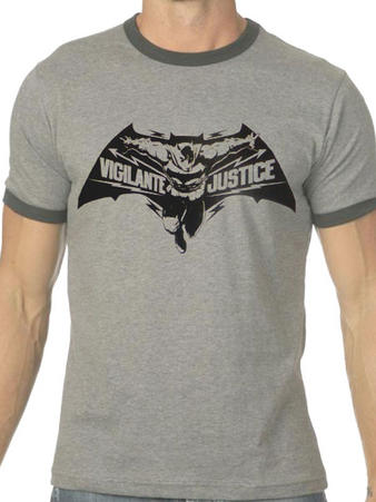 Batman V Superman (Vigilante Justice) T-shirt Preview