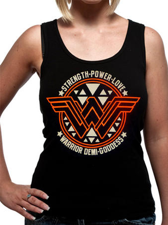 Batman V Superman (Wonder Woman Symbol) Vest Preview
