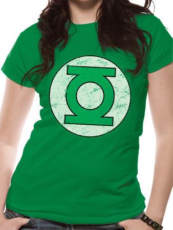 Green Lantern (Distressed Logo) T-shirt Preview