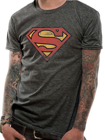 Superman (Vintage (Distressed) T-shirt Preview