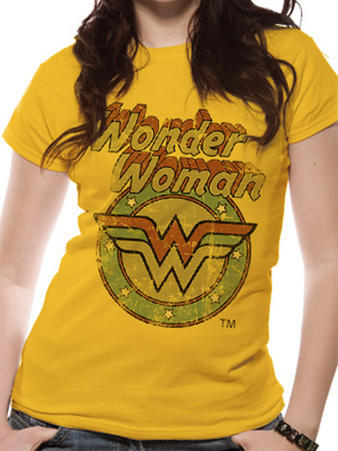 Wonder Woman (All The Heroes Circle) T-shirt Preview