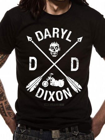 The Walking Dead (DD Cross) T-shirt Preview