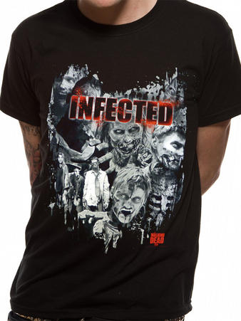 The Walking Dead (Infected) T-shirt Preview