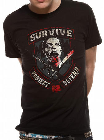 The Walking Dead (Survive) T-shirt Preview