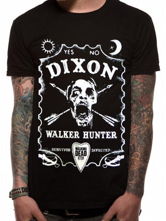 The Walking Dead (Walker Hunter) T-shirt Preview