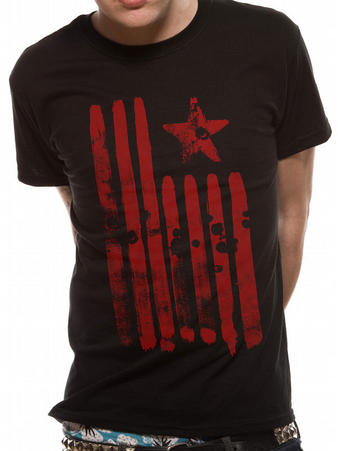 Rage Against The Machine (Flag) T-Shirt Preview