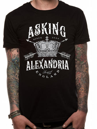 Asking Alexandria (Crown) T-Shirt Preview