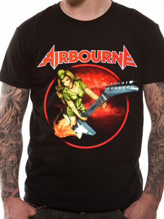 Airbourne (Woman) T-Shirt Preview