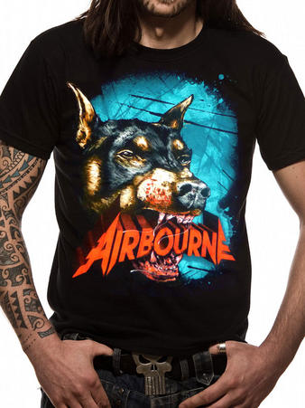 Airbourne (Dog) T-Shirt Preview