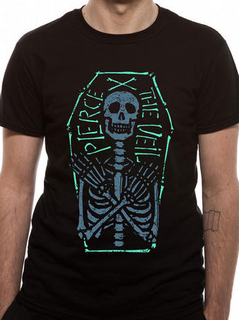 Pierce The Veil (Skeleton Coffin) T-shirt Preview