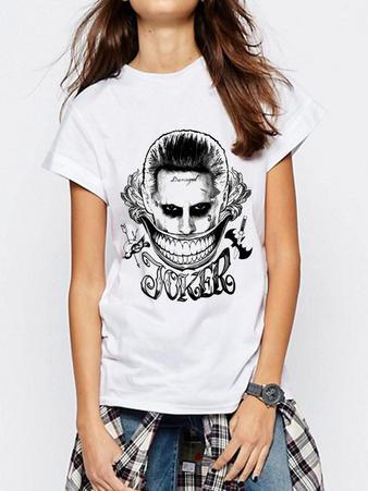 Suicide Squad (Joker Face) T-shirt Preview