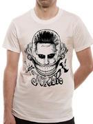 Suicide Squad (Joker Face) T-shirt Thumbnail 3