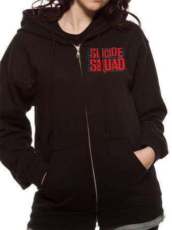Suicide Squad (Bomb Logo) Hoodie Preview