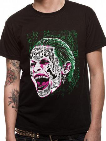 Suicide Squad (Joker Head) T-shirt Preview