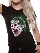 Suicide Squad (Joker Head) T-shirt Thumbnail 1