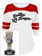 Suicide Squad (Daddy's Lil Monster) 3/4 Varsity Raglan Bundle