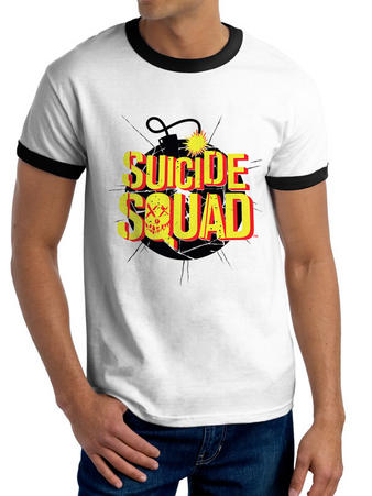 Suicide Squad (Exploding Bomb) T-shirt Preview